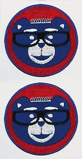 2pk ~ Harry Cubbie 3in Instant Fan Patches