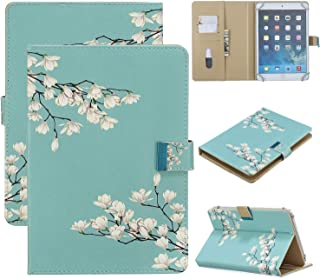 7 inch Universal Tablet Case, APOLL PU Leather Magnetic Closure Wallet Case for Samsung Galaxy Tab A 7.0/Tab 3 Lite 7.0/Ta...