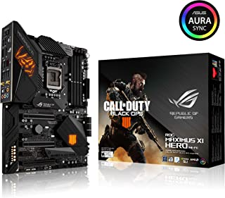 Asus ROG Maximus XI Hero (Wi-Fi) CE LGA1151 (Intel 8 9 Gen) ATX DDR4 DP HDMI M.2 Hero Call of Duty Special Edition Z390 Placa Base para Juegos