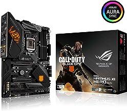 Asus ROG Maximus XI Hero (Wi-Fi) CE LGA1151 (Intel 8 9 Gen) ATX DDR4 DP HDMI M.2 Hero Call of Duty Special Edition Z390 Placa Base para Juegos