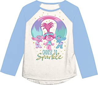 Jumping Beans Toddler Girls 2T-5T Trolls Sparkle Group Graphic Tee