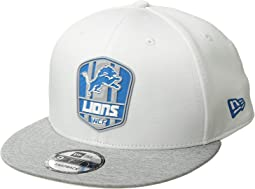 9Fifty Official Sideline Away Snapback - Detroit Lions