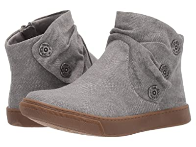 Blowfish Kids Pava-K (Little Kid/Big Kid) (Steel Grey Gaucho Canvas 1) Girl