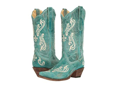 Corral Boots R1973 (Turquoise) Women