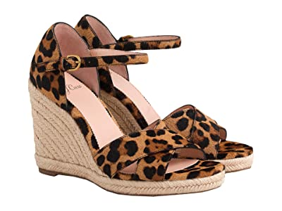 J.Crew Haircalf Espadrille Wedge Sandal (Leopard) Women