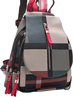 HYKJ shoulder bag 2021 new trendy Korean version of the minimalist leisure college fashion travel retro plaid lady backpac...