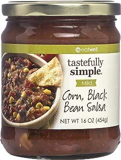 Tastefully Simple Corn, Black Bean Salsa