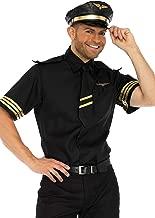Leg Avenue Men's Pilot Flight Captain Costume