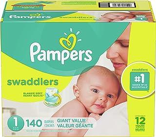Pampers Swaddlers Pañales Etapa 1 con 140 Piezas