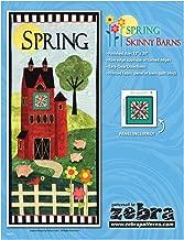 Spring Skinny Barn Wall-hanging quilt pattern by Zebra Patterns 12
