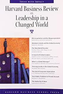 """""""Harvard Business Review"""" on Leadership in a Changed World"""
