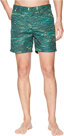 Medium Length Swim Shorts in Sophisticated Patterns