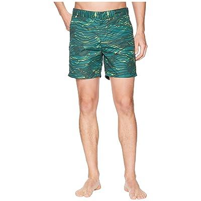 Scotch & Soda Medium Length Swim Shorts in Sophisticated Patterns (Combo E) Men