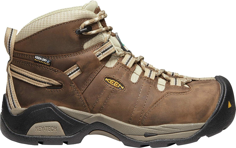 KEEN Utility - Women's CSA Oshawa II Mid Waterproof (Carbon Fiber Toe) Work Boots