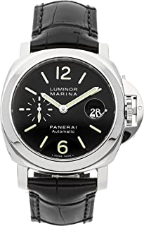 Panerai Luminor Mechanical (Automatic) Black Dial Mens Watch PAM 104 (Certified Pre-Owned)