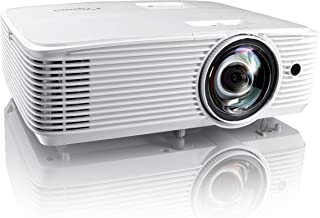 Optoma EH412ST Short Throw 1080P HDR Professional Projector | Super Bright 4000 Lumens | Business Presentations, Classrooms, or Meeting Rooms | 15,000 hour lamp life | Speaker Built In |