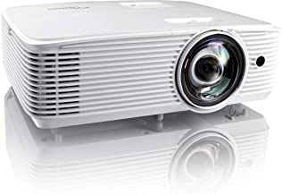Optoma EH412ST Short Throw 1080P HDR Professional Projector   Super Bright 4000 Lumens   Business Presentations, Classroom...