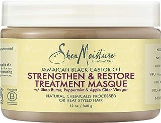 SheaMoisture Jamaican Black Castor Oil Intensive Strengthening Masque Hair Treatment, 12 Ounce