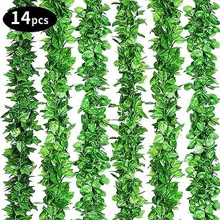 Feuilles De Lierre Guirlande Plantes Artificielles Floral Mariage Bouquet Parti Maison D/éCoration Fleurs Artificielles Hortensia Fleurs Artificielles Deco Mariage Wolfleague