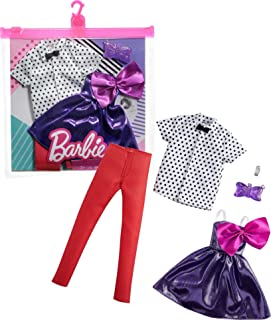 Barbie Fashion Pack with 1 Outfit & 1 Accessory Doll & 1 Each for Ken Doll, Gift for 3 to 8 Year Olds