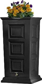 Good Ideas SV-Rs-Blk Savannah Rain Barrel 55 Gallon, Black