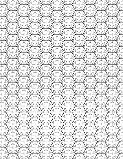Amazon com: hex grid paper