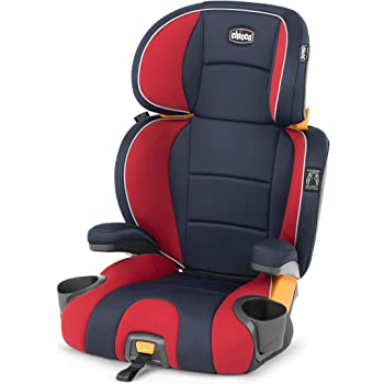 Chicco KidFit 2-in-1 Belt Positioning Booster Car Seat - Horizon, Navy/Red