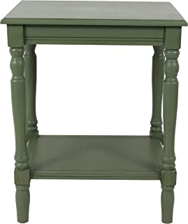 Décor Therapy FR1572 Simplify End Table, Green