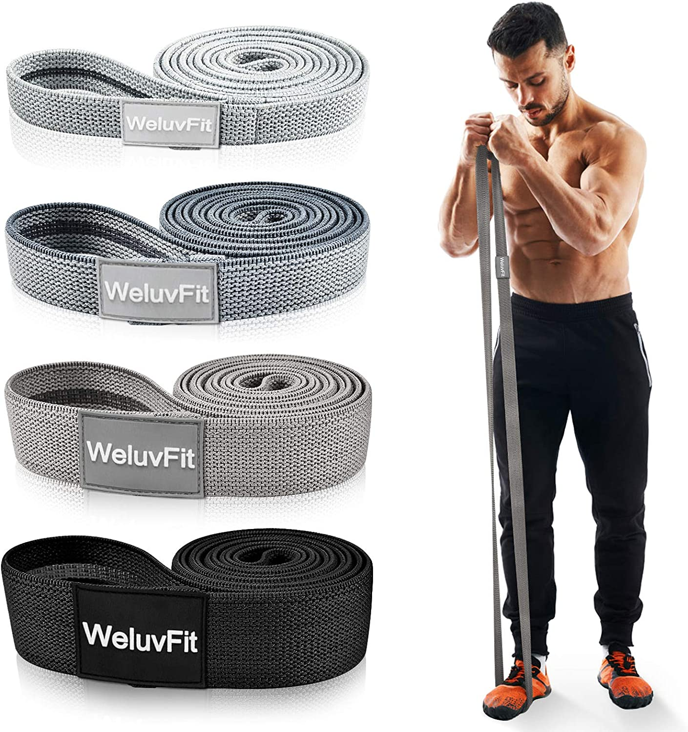 Inexpensive Long Resistance Bands Japan Maker New WeluvFit Workout Wom for
