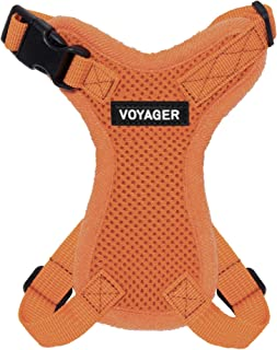 Voyager Step-in Lock Pet Harness – All Weather Mesh, Adjustable Step in Harness for Cats and Dogs by Best Pet Supplies - O...