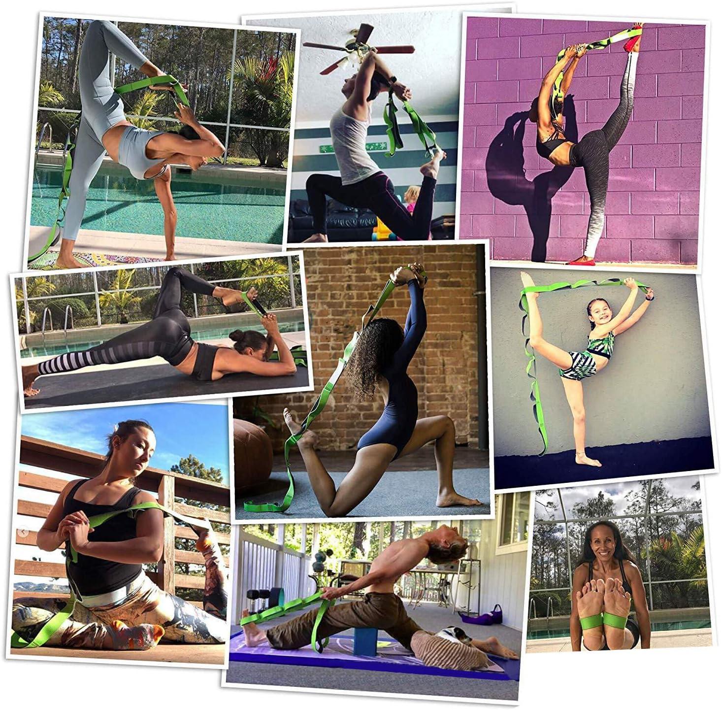 WildWave Yoga Stretch Strap 12 Loops
