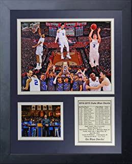 NCAA Duke Blue Devils 2015 Basketball National Champions Legends Never Die Collage Framed Photo Collage, 11