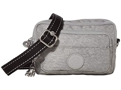 Kipling Multiple Convertible Waistpack (Chalk Grey) Handbags