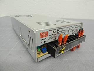 Mean Well SP-320-48 Enclosed Switching AC-to-DC Power Supply, Single Output, 48V, 0-6.7A, 321.6W, 2.0