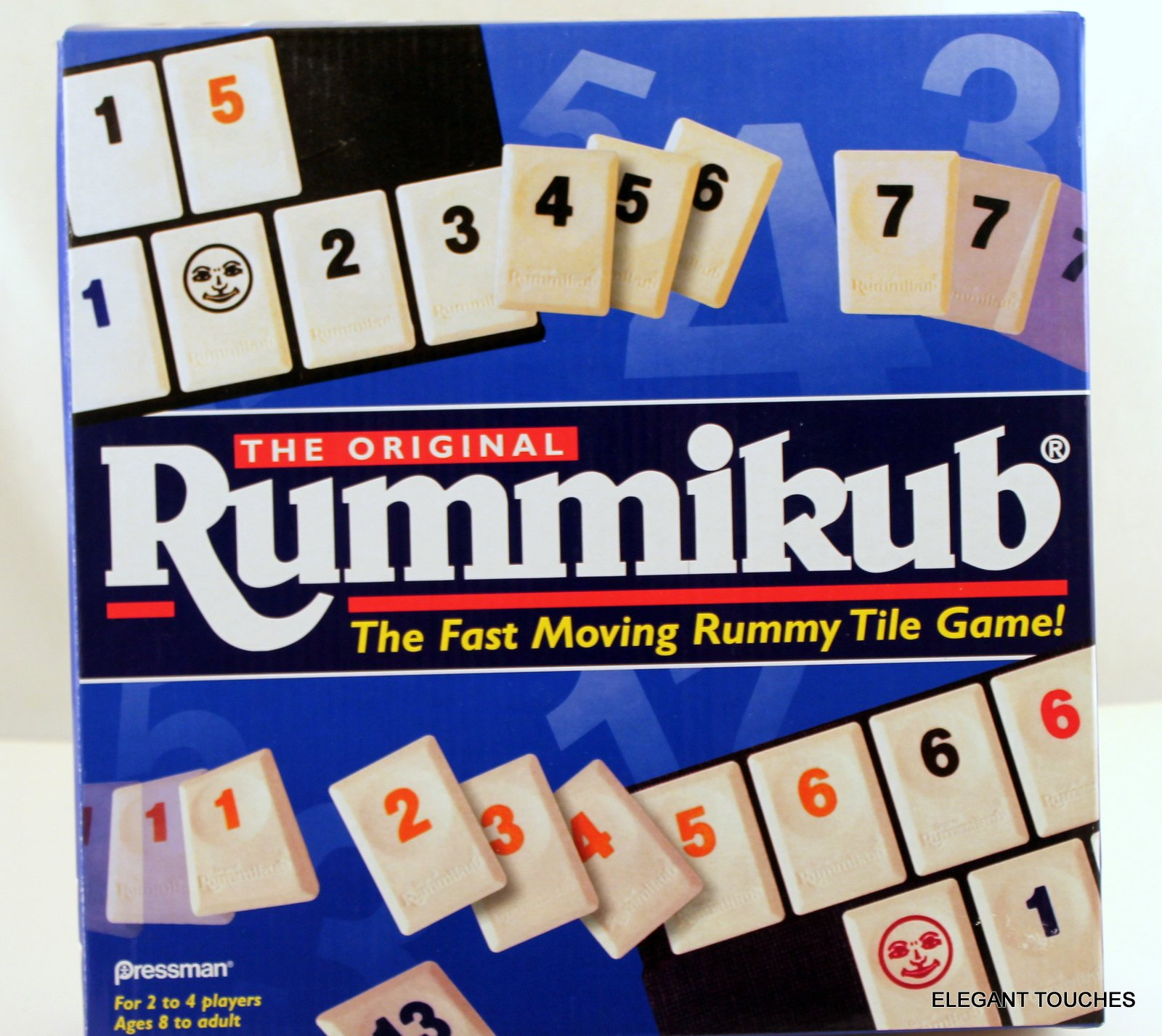 The Original Rummikub - Fast Moving Rummy Tile Game by PRESSMAN TOY CORPORA by PRESSMAN TOY CORPORA: Amazon.es: Juguetes y juegos