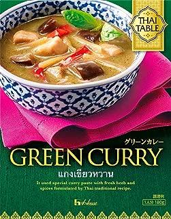 ハウス THAI TABLE グリーンカレー 180g×5個