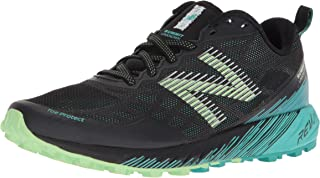 New Balance Women's Summit Unknown Shoes, Green/Black, 6 US