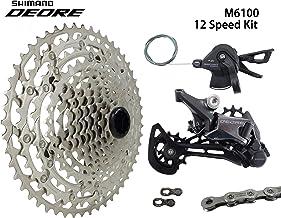 JGbike Compatible MTB groupset for Shimano Deore M6100,SLX M7100,XT M8100 12 Speed 10-51T Cassette