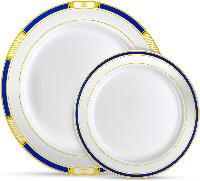 Laura Stein Designer Dinnerware Today's only Set Plastic Disposable Part 64 Award
