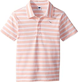 Short Sleeve Pique Polo (Toddler/Little Kids/Big Kids)
