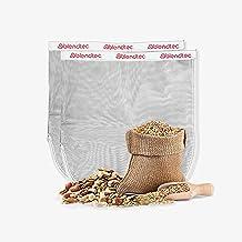 "Blendtec Nut Milk Bag XL Size 13"" x 14"" - Commercial Grade Reusable Nylon Bag - All Purpose Fine Mesh Strainer Great for C..."