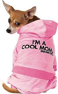زي تنكري للحيوانات الأليفة مطبوع عليه عبارة Mean Girls Mom Track Suit من روبيز، مقاس كبير