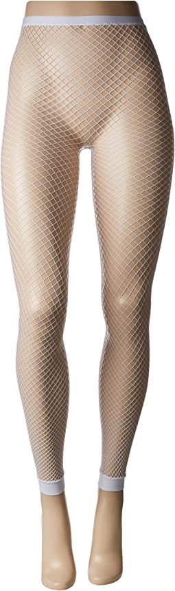 HUE - Footless Fishnet Tights