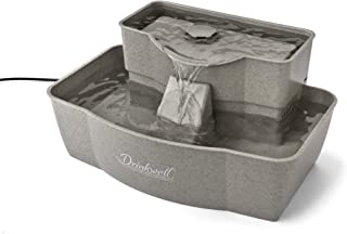 PetSafe Drinkwell Multi-Tier Dog and Cat Water Fountain, Automatic Drinking Fountain for Pets, 100 oz. Water Capacity - PWW00-13708