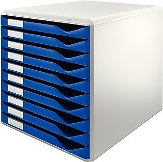 Leitz Form 52810035 - Buc de cajones 10 cajones Azul Plástico