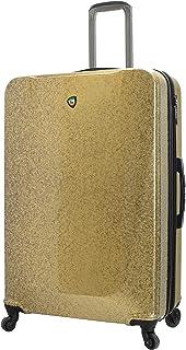 Mia Toro Mia Toro Italy Caglio Hard Side 30 Inch Spinner Luggage, Gold (Multi) - M1536-30IN-GLD