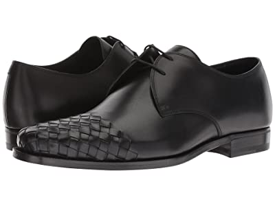 Bottega Veneta Chet II Lace-Up Oxford (Black) Men