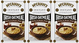 McCanns Instant Irish Oatmeal Maple Brown Sugar, 10 ct, 3 pk