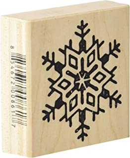 Stamps by Impression ST 1140 Snowflake Christmas Rubber Stamp