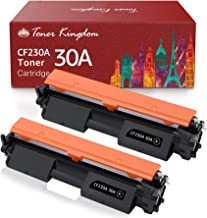 Toner Kingdom Compatible Toner Cartridge Replacement for HP 30A CF230A HP 30X CF230X Work with Laserjet Pro MFP M203dw M22...